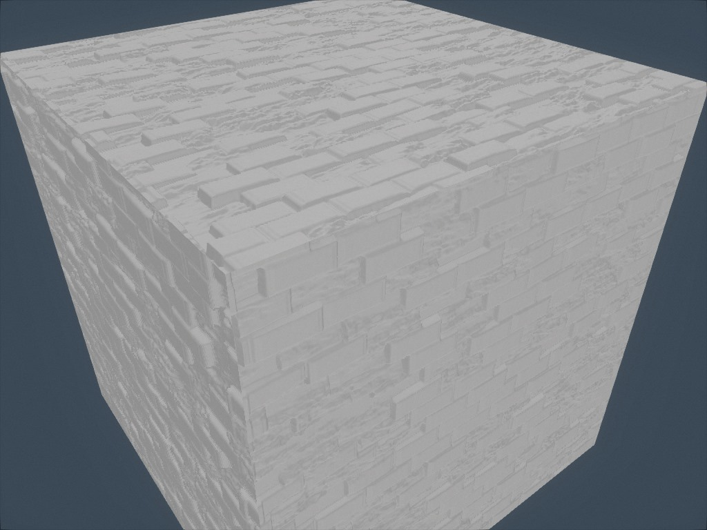 Wall texture without ambient occlusion