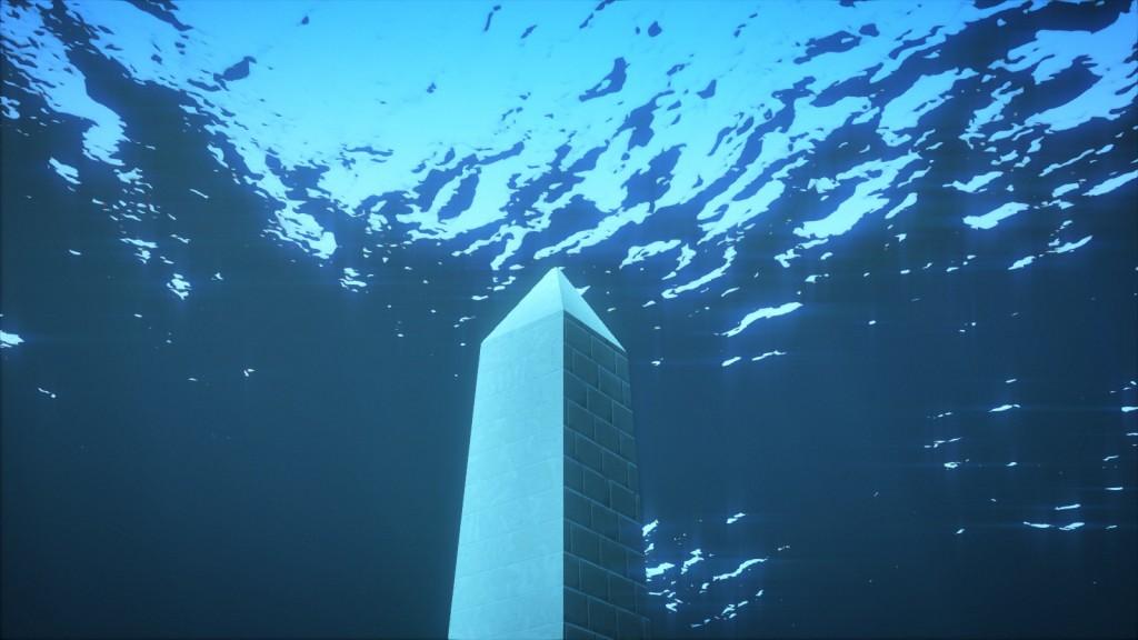 Obelisk emergence scene