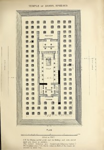 Temple of Diana - Plan